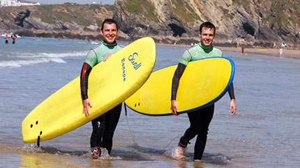 Surf Equipment Hire Newquay