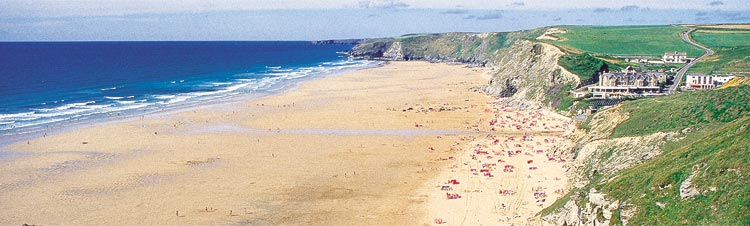watergate bay beach newquay cornwall