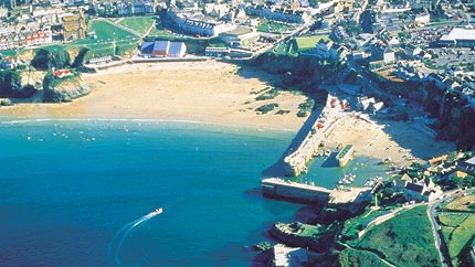 newquay town aerial