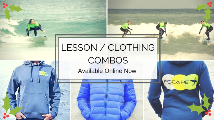 Gift Ideas - Lesson + Clothing Combos