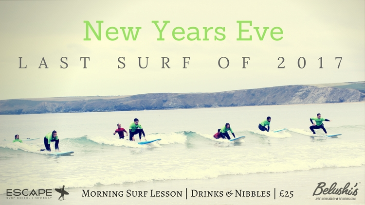 New Years Eve Surf