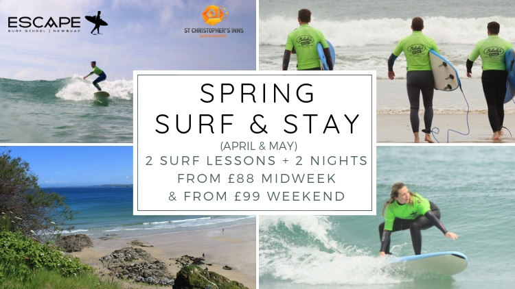 Surf And Stay In Newquay Escape Surf School