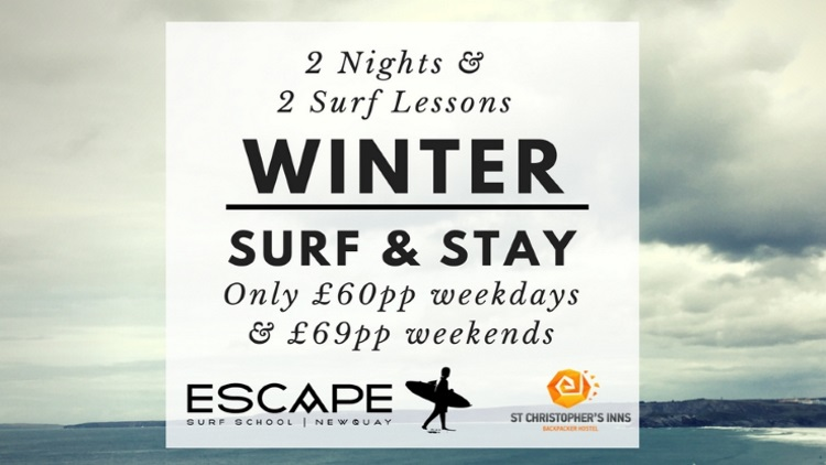 Winter Surf N Stay