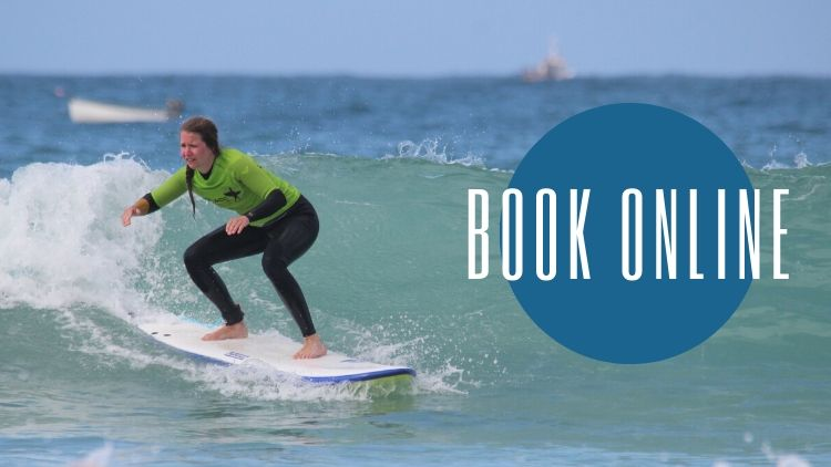 Book Surf lessons Online