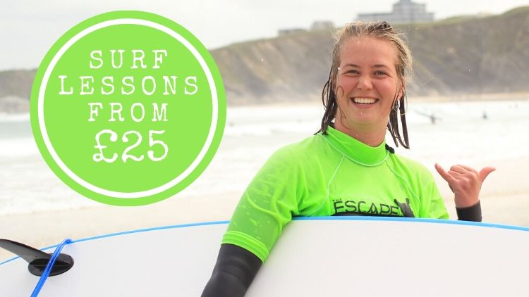 Surf Lessons in Newquay