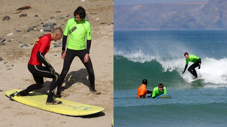 advanced surf coaching newquay cornwall
