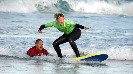 Surfing Lessons In Newquay Cornwall Escape Surf School