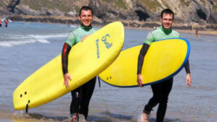 surfboard hire newquay